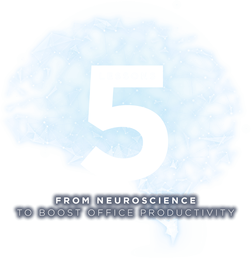 Five lessons from neuroscience to boost office productivity
